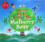 Here We Go Around the Mulberry Bush story book with music CD (audio & video animation)