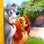 Disney Lady and the Tramp Story Book