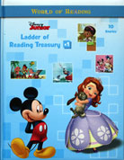 Disney Junior - Ladder of Reading Treasury #1 Story Book (Cover Blue)