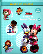 Disney Junior - Ladder of Reading Treasury #2 Story Book (Cover Green)