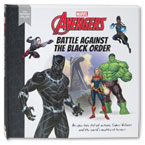 Little Readers - Marvel Avengers Battle Against The Black Order