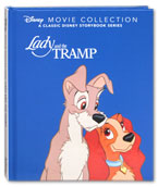 Disney Lady and the Tramp Movie Collection - A Classic Disney Storybook Series