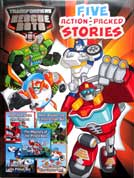 Transformers Rescue Bots Five Action-Packed Stories