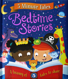 Five Minute Tales Bedtime Stories (5 stories)