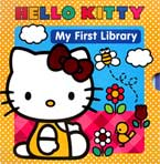 Hello Kitty My First Library includes 6 Story Books