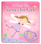 Five Minute Tales Stories for Girls (cover pink)