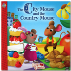 The City Mouse and the Country Mouse Little Classics Story Book