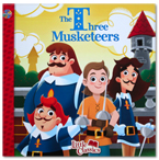 The Three Musketeers Little Classics Story Book