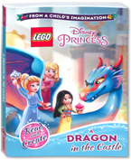 Lego Disney Princess A Dragon in the Castle Story Book (Read and Create)