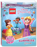 Lego Disney Princess The Surprise Storm Story Book (Read and Create)