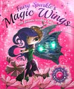 Fairy Sparkle's Magic Wings Story Book with fantastic twinkling lights