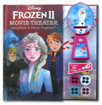Disney Frozen II Theater Storybook & Movie Projector (20 Images to Project)