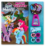 My Little Pony the Movie Movie Theater Storybook & Movie Projector (20 Images to Project)
