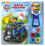 Paw Patrol Movie Theater Storybook & Movie Projector (20 Images to Project)