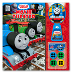Thomas & Friends Movie Theater Storybook & Movie Projector (20 Images to Project)
