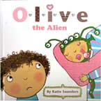 Olive the Alien Story Book