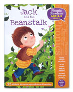 Jack and the Beanstalk Phonic Readers Level 2 (Age 4-6 years) with 75 stickers