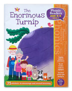 The Enormous Turnip Phonic Readers Level 2 (Age 4-6 years) with 75 stickers