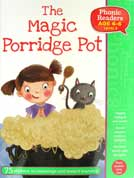 The Magic Porridge Pot Phonic Readers Level 3 (Age 4-6 years) with 75 stickers