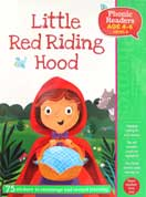 Little Red Riding Hood Phonic Readers Level 3 (Age 4-6 years) with 75 stickers