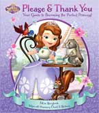 Disney Sofia the First Please & Thank You (Fill-in Storybook, Wipe-off Manners Chart & Stickers) (SALE!!)