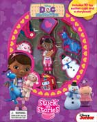 Stuck on Stories Disney Doc McStuffins with 10 Disney Suction Cups and a Storybook!