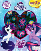 Stuck on Stories My Little Pony The Movie with 10 Disney Suction Cups and a Storybook!