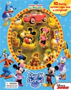 Stuck on Stories Disney Mickey Mouse Clubhouse with 10 Disney Suction Cups and a Storybook!