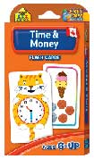 School Zone Time & Money Flash Cards (56 Cards)