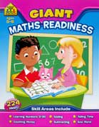 School Zone Giant Maths Readiness Workbook (Ages 5-6)