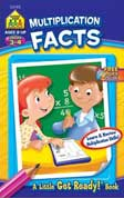 School Zone Multiplication Facts! A Little Get Ready! Book (Learn & Review Multiplication Skills!)