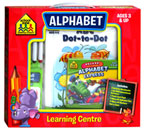School Zone ALPHABET Learning Center Box Set (Ages 3 & Up)