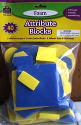 TCR Foam Attribute Blocks (40pcs)