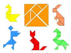 TCR Foam Tangrams (8 sets of 7-piece tangrams)