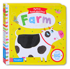 My First Touch and Find Farm Board Book With Big Flaps