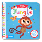 My First Touch and Find Jungle Board Book With Big Flaps