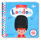 My First Touch and Find London Board Book With Big Flaps