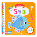 My First Touch and Find Sea Board Book With Big Flaps
