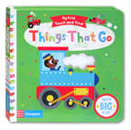 My First Touch and Find Things That Go Board Book With Big Flaps