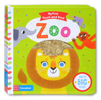 My First Touch and Find Zoo Board Book With Big Flaps