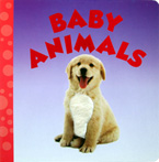 Baby Animals Board Book (with touch & feel texture on front cover)