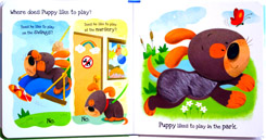 What Does Puppy Like? Touch & Feel Board Book (Full of Fun Textures to Explore!)