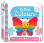 Little Me - My First Colours Board Book (With touch and feel on every page)