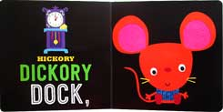 Hickory Dickory Dock Touch and Feel Board Book