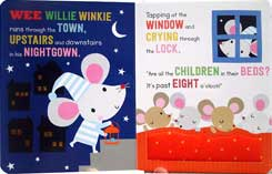 Twinkle Twinkle Little Star and other Bedtime Rhymes Board Book with touch and feel textures