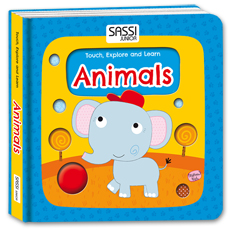 Touch, Explore and Learn – Animals Board Book