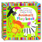 Usborne Baby's Very First Touchy-Feely Animals Play Book