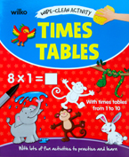 Times Tables Wipe-Clean Activity Book With Lots of Fun Activities To Practise and Learn