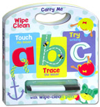 Carry Me Wipe Clean: ABC Board Book