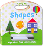 Carry Me Wipe Clean: Shapes Board Book